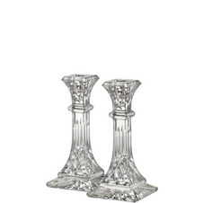 Two Lismore Candlestick 8in