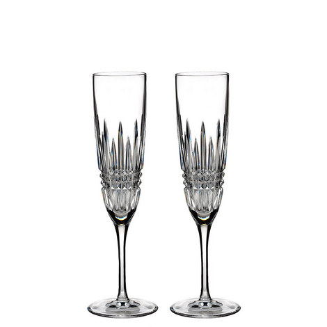 Lismore Diamond Champagne Flute Set of Two, ${color}