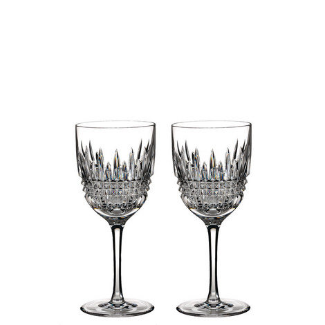 Lismore Diamond Red Wine Set of Two, ${color}