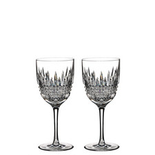 Lismore Diamond Red Wine Set of Two