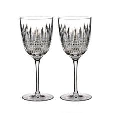 Lismore Diamond White Wine Glass Set of Two