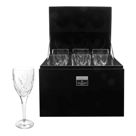 John Rocha Signature White Wine Set, ${color}