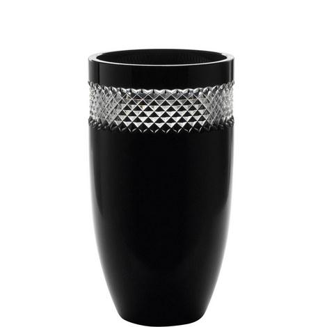 John Rocha Black Glass Vase, ${color}