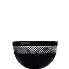 John Rocha Black Cut Bowl 25cm
