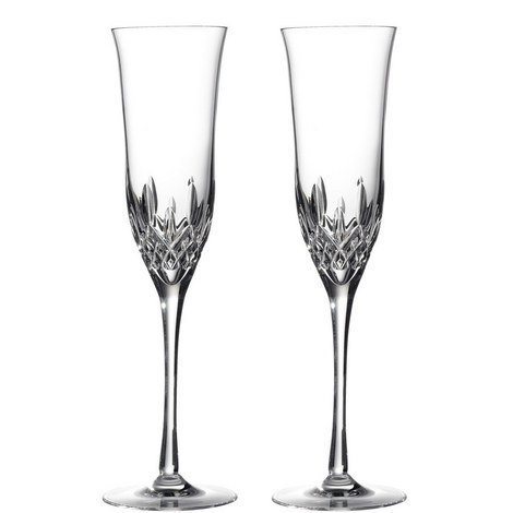 Lismore Essence Champagne Flute Set of Two, ${color}