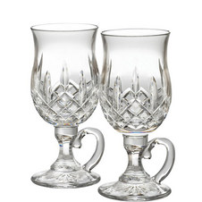 Two Lismore Irish Coffee Glasses