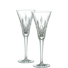 Two Lismore Toasting Flutes