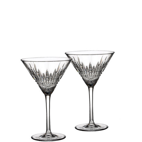 Lismore Diamond Martini Set of Two, ${color}