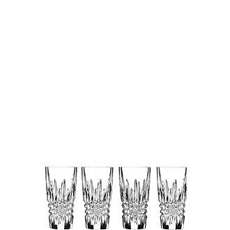 Lismore Diamond Shot Glass Set of Four