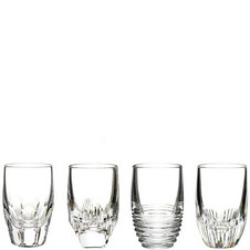 Four Mixology Shot Glasses