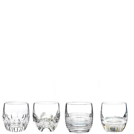 Mixology Double Old Fashioned Set of Four, ${color}