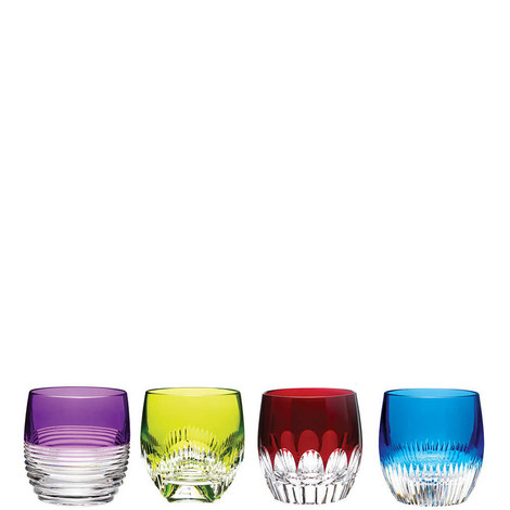 Mixology Double Old Fashioned Colours Set of Four, ${color}