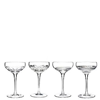 Mixology Champagne Coupe Set of Four