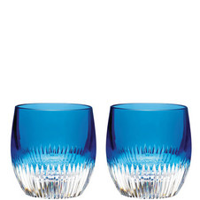Two Double Old Fashioned Tumblers