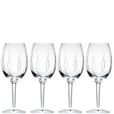 John Rocha Weft Goblet Set of Four