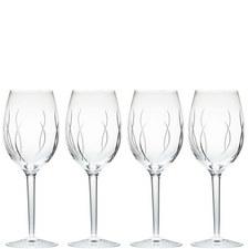 John Rocha Weft Wine Set of Four
