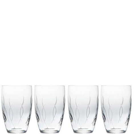 John Rocha Weft Tumbler Set of Four, ${color}