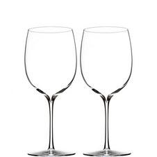 Two Elegance Bordeaux Wine Glasses