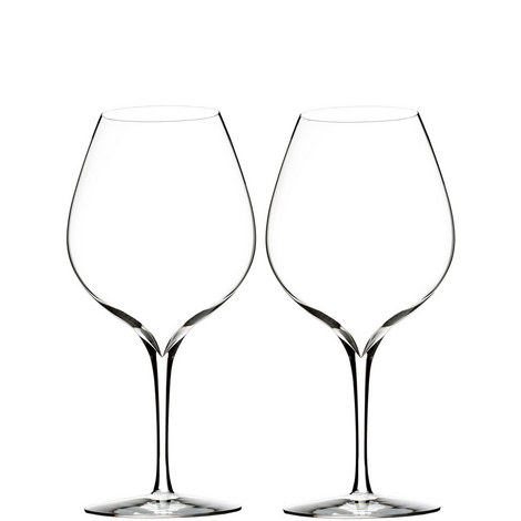 Elegance Merlot Glass Set of Two, ${color}