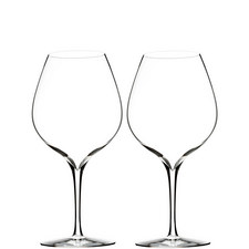 Elegance Merlot Glass Set of Two