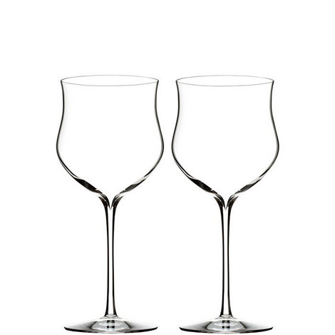 Two Elegance Rosé Wine Glasses, ${color}