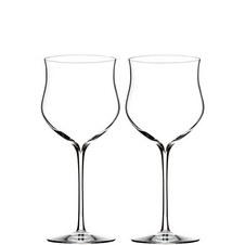 Two Elegance Rosé Wine Glasses