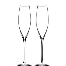 Two Elegance Classic Champagne Flutes