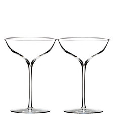 Elegance Champagne Belle Coupe Set of Two