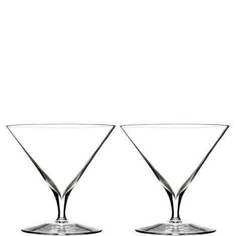 Two Elegance Martini Glasses, ${color}
