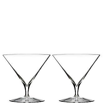 Two Elegance Martini Glasses