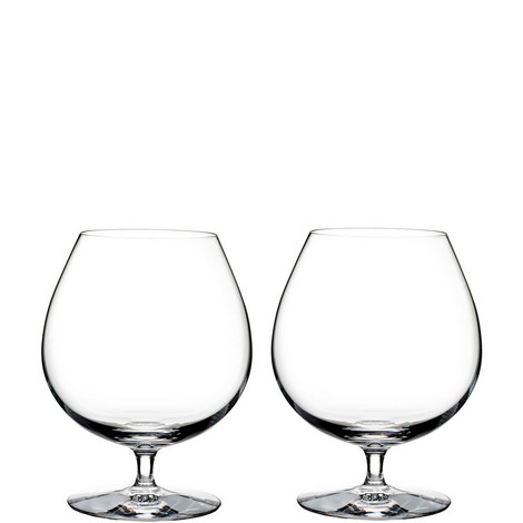 Elegance Brandy Glass Set of Two, ${color}