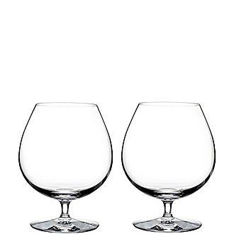 Elegance Brandy Glass Set of Two