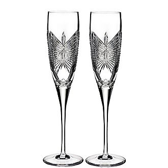 Love Happiness Flute Pair