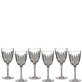 Lismore Diamond Goblets Set of 6