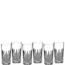 Lismore Diamond Hi-Ball Glasses Set of 6