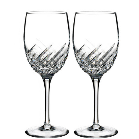 Essentially Wave Wine Glasses, ${color}