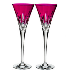 Lismore Pops Toasting Flutes Set of 2