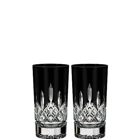 Lismore Black Hi Ball Glasses, ${color}