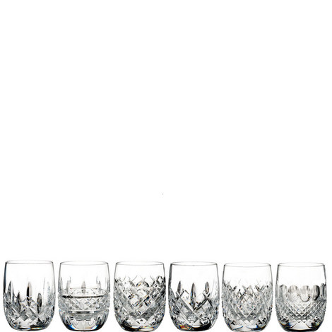 Set of 6 Lismore Connoisseur Heritage Rounded Tumbler, ${color}