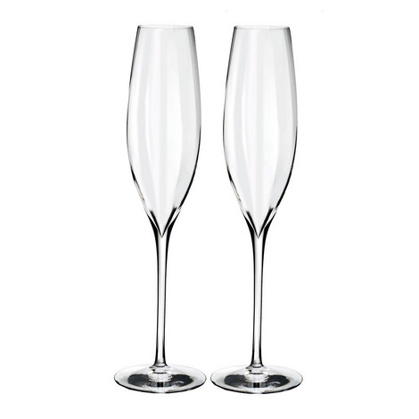 Elegance Optic Champagne Flute, ${color}
