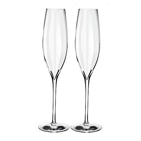 Elegance Optic Champagne Flute, ${color}
