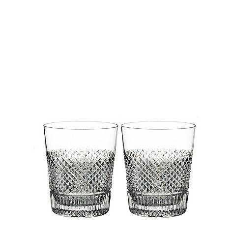 Diamond Line Double Old Fashioned tumblers, ${color}