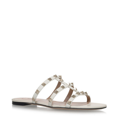 Rockstud Slide Sandals, ${color}