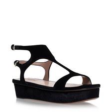Tactile Platform Sandals