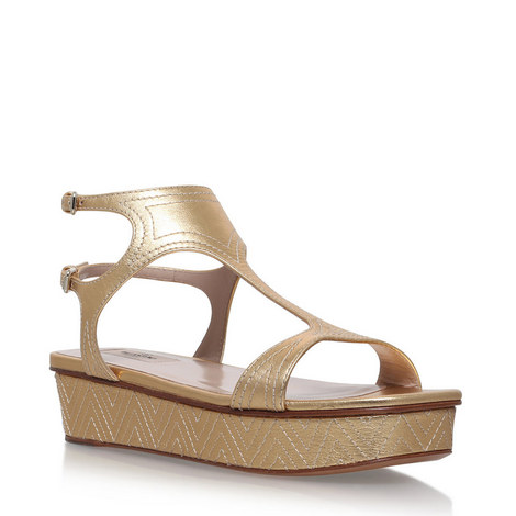 Topstitch Platform Sandals, ${color}