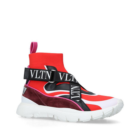 VLTN Sock High-Top Trainers, ${color}