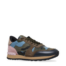 Studded Camouflage Trainers