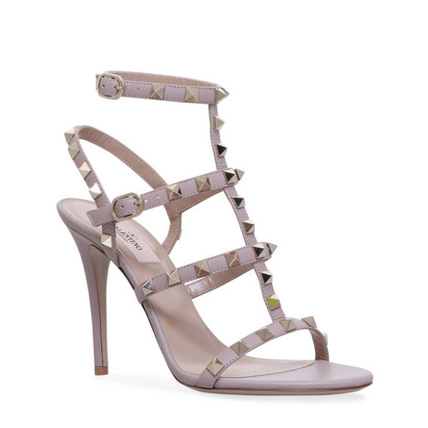 Rockstud T-Bar 100 Sandals, ${color}