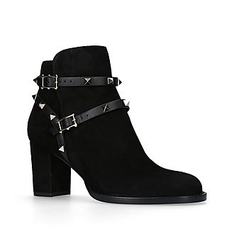 Rockstud 70 Ankle Boots