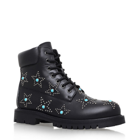 Star-Studded Combat Boots, ${color}